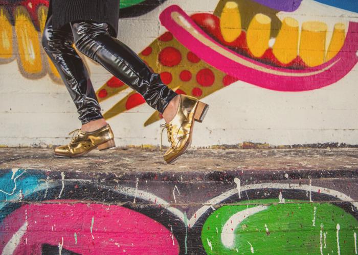 Tap dance sfondo murales