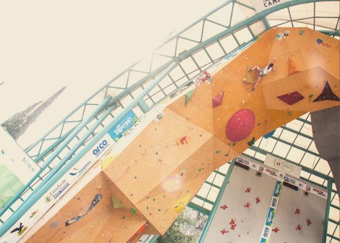 competizione di arrampicata